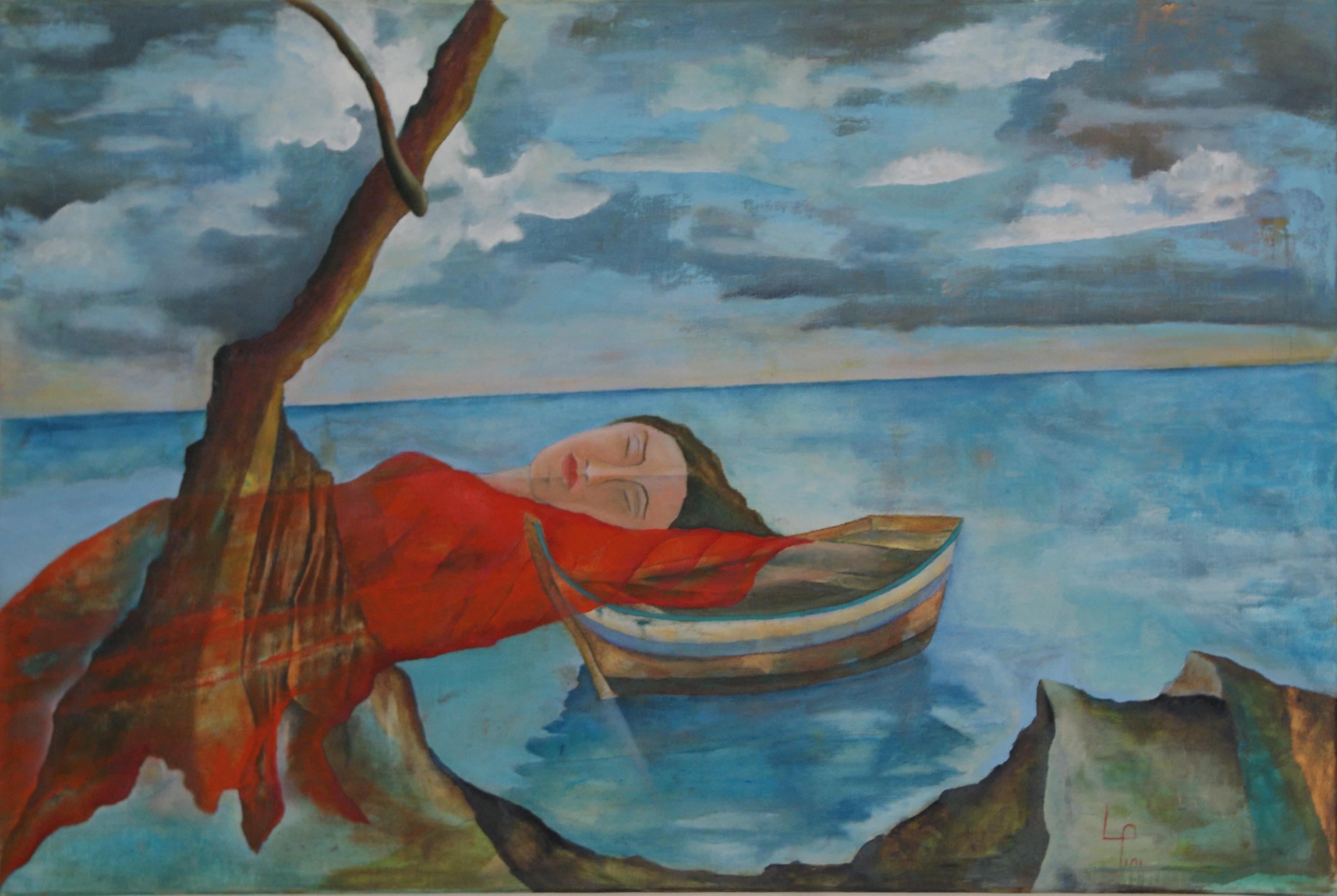 Il quadro Languore di Leo Pini (http://leopini.net)