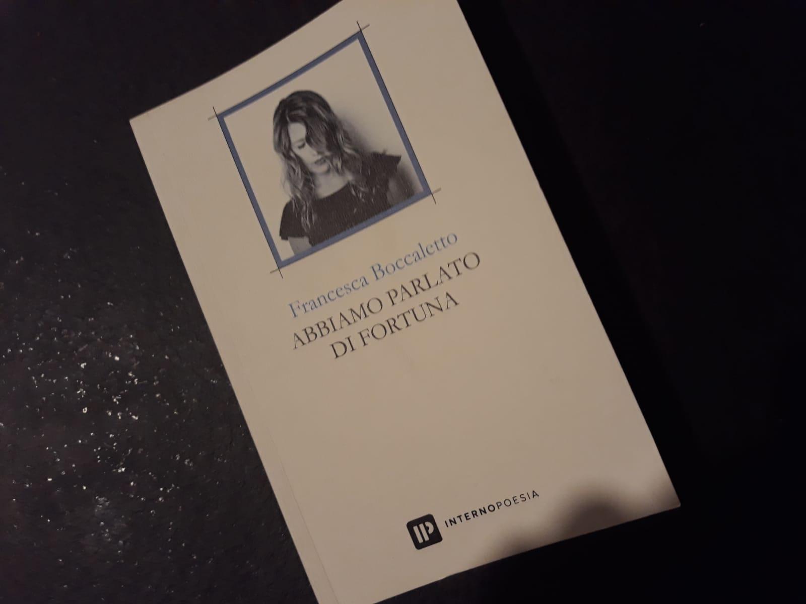 La copertina del libro della poetessa veneta Francesca Boccaletto