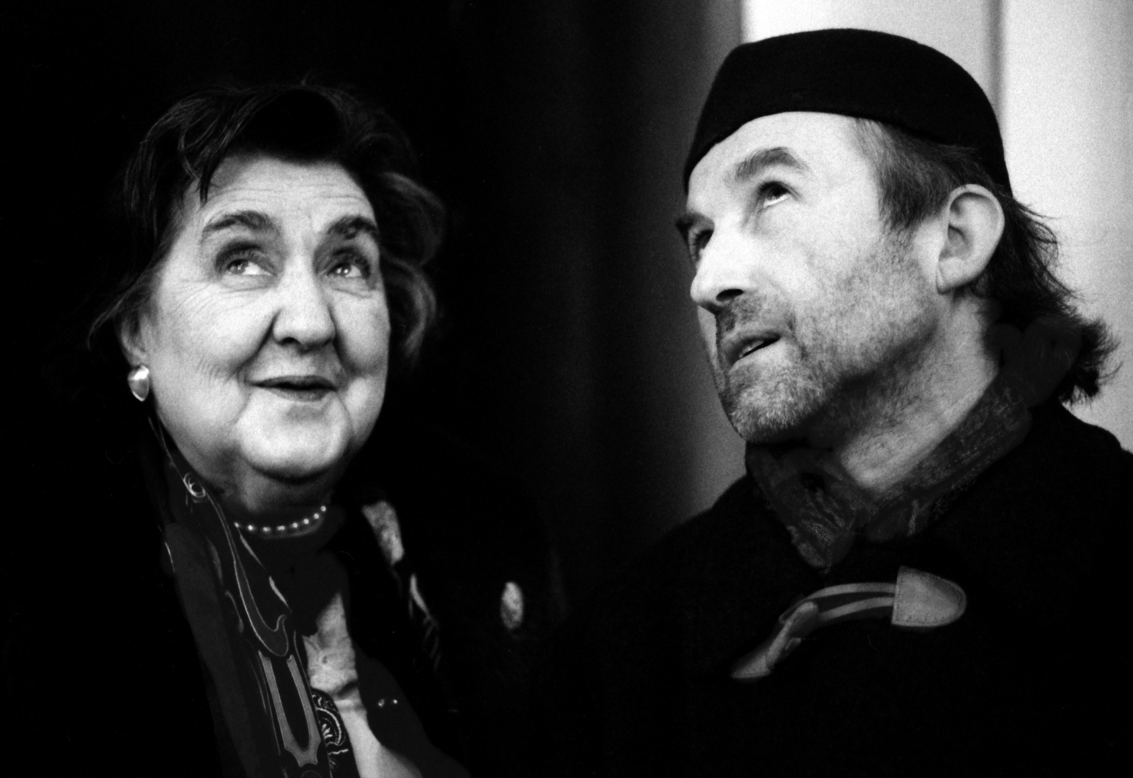 Alda Merini e Alberto Casiraghy_foto Matticchio, fonte Irma Bianchi Comunicazione