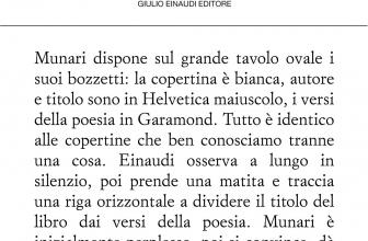 Collezione di poesia Einaudi, ecco l'elenco di tutti i libri pubblicati